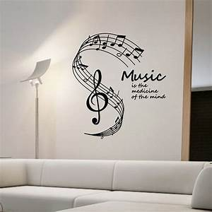 Aliexpress com : Buy Music Is The Medicine Of The Mind