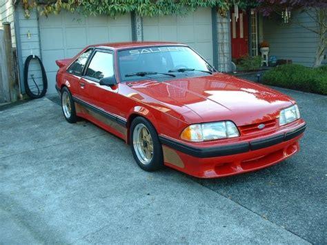 Billsellers 1989 Saleen Mustang Specs, Photos