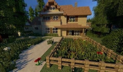 greenville idyllic village minecraft building