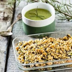 Recette Crumble Salé : recette gazpacho vert et son crumble sal au romarin ~ Melissatoandfro.com Idées de Décoration