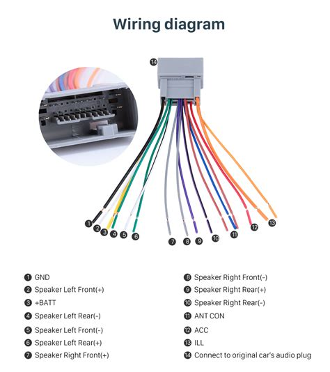 Honda Fit Wiring Harnes Diagram by Car Audio Cable Wiring Harness Adapter For 08 Honda Accord Fit