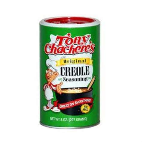 creole seasoning chef central tony chachere original creole seasoning