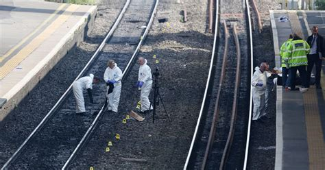 slough train deaths police  mum  young son killed