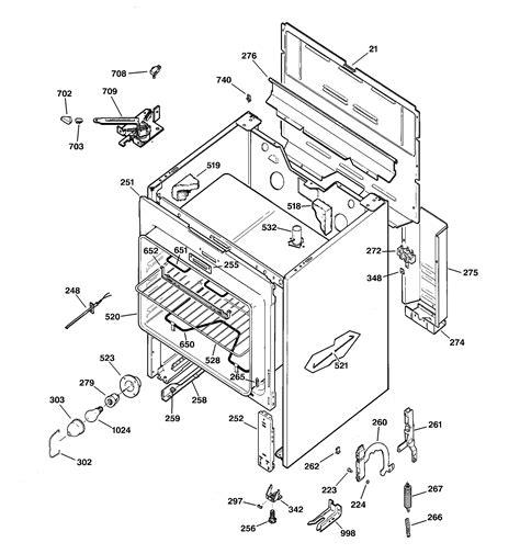 ge model jbpwy ranges electric genuine parts