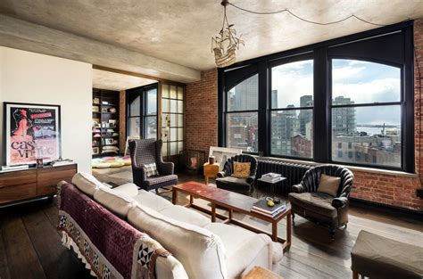 A Look Inside Kirsten Dunst's Charming Soho Penthouse