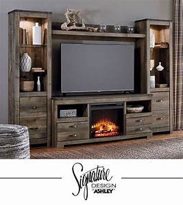 trinell entertainment wall fireplace insert option tv With home entertainment fireplace living room furniture