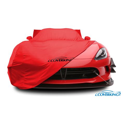 covered car coverking satin stretch custom fit vehicle cover