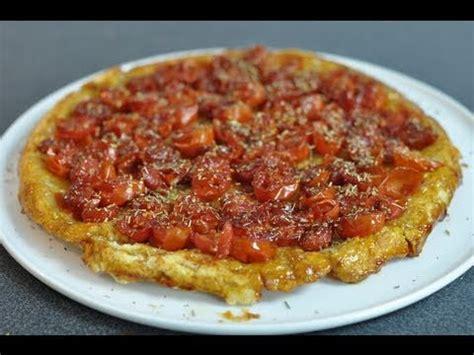 recette géniale de la tarte tatin à la tomate cerise