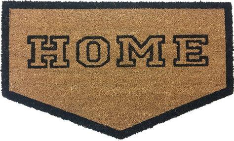Home Plate Doormat by Vinyl Back Doormat Home Plate Coir Doormat Coco Mats