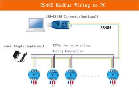 Modbus Temperature Sensor Transmitter Rtd Resistance