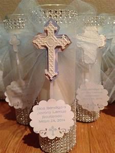Baptism favors/centerpiece/decor   Jovanys Bautizo ...