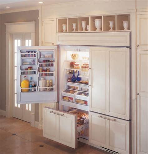 monogram zicnxlh   built  bottom freezer refrigerator  spillproof glass shelves