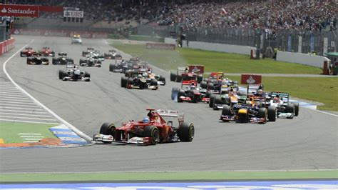 Germany | FORMULA 1 EMIRATES GROSSER PREIS VON DEUTSCHLAND 2018formula1.com › en/racing…Germany.htmlSee every twist and turn. Prepare yourself for the 2018 German Grand Prix.... It was here that Jim Clark lost his life in a 1968 Formula 2 race, and it's well worth the trek into the forest to find the modest memorial to the Scotsman. But Hockenheim also has an electric atmosphere, and when the... Read moreSee every twist and turn. Prepare yourself for the 2018 German Grand Prix.... It was here that Jim Clark lost his life in a 1968 Formula 2 race, and it's well worth the trek into the forest to find the modest memorial to the Scotsman. But Hockenheim also has an electric atmosphere, and when the cars bolt into the Motodrom stadium section, the feeling is full-on gladiatorial. Where is the best place to watch? We'd advise you finding your way into Grandstand C, which peers down over the Sachskurve. Not only will you get to watch the cars coming into the stadium, but you'll also be at one of the track's best overtaking spots, as the drivers squabble to get into the cambere... HideFormula 1® Germany Tickets | The Official F1® Ticket Storetickets.formula1.com › 3255-Array/The atmospheric German Grand Prix welcomes fans to a top-speed car racing show at the Hockenheimring in the Rhine valley... Purchase your Germany Grand Prix tickets at Hockenheim easily online in the Official F1® Ticket Store.(document.querySelector(