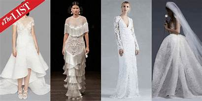 Bridal Fall Runway Week Winter Trends