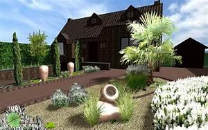 amenagement des alentours d39une habitation avec With amenagement exterieur terrasse maison 6 amenagement exterieur dune habitation familiale