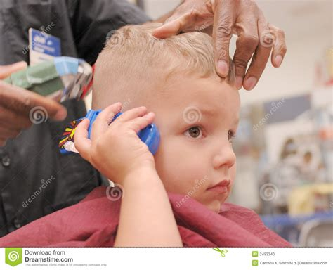 Toddler Boy Getting Haircut Stock Photo Haircut For Large Forehead And Thin Hair Chesterfield Mo Stylish Little Girl Haircuts Police Officer Styles Ladies In Their 40s Hairstyles Best Fade Women 2015