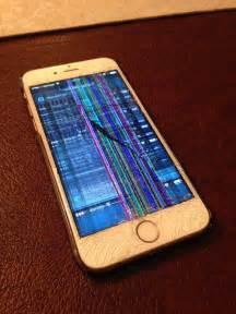 Broken Screen iPhone 6