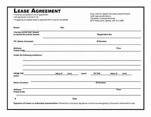 39 excellent rental lease and agreement template examples With rental agreement document template