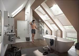 Bad Mit Dachschräge Dusche : bad mit dachschr ge die 14 sch nsten ideen ~ Bigdaddyawards.com Haus und Dekorationen
