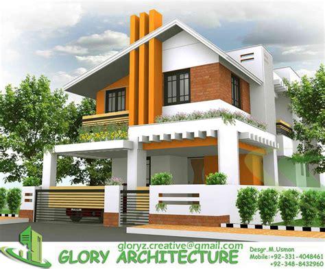 3D elevation House architecture design Architecture