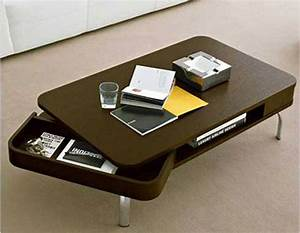 contemporary coffee table with storage With designer coffee table with storage