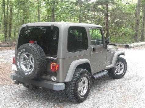 2006 jeep wrangler 4 door buy used 2006 jeep wrangler sport sport utility 2 door 4