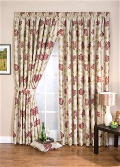 petula chintz ready made curtains fully lined chintz 66