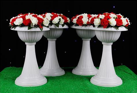 Flower Vases For Sale by Big Size 56cm Wedding Plastic Flower Pots Sale