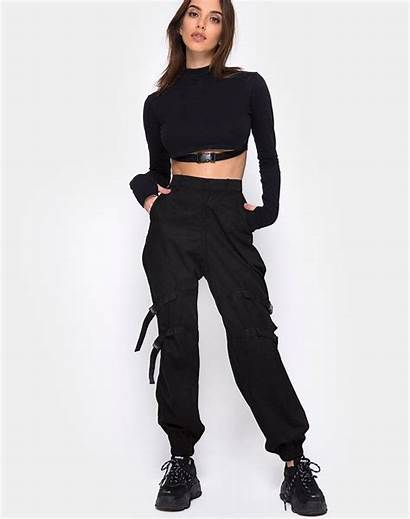 Cargo Trouser Outfit Clive Motel Buckle Outfits