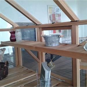 Etagere De Jardin : etag re en bois pour serre de jardin classic 4 4m juliana ~ Premium-room.com Idées de Décoration