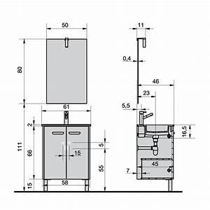 Dimension Vasque Salle De Bain : dimension meuble double vasque digpres ~ Nature-et-papiers.com Idées de Décoration