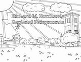 Coloring Fairgrounds Contest sketch template