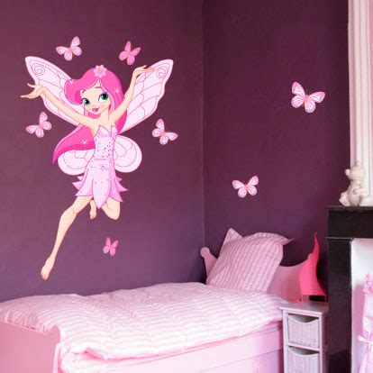 chambre papillon deco chambre bebe papillon