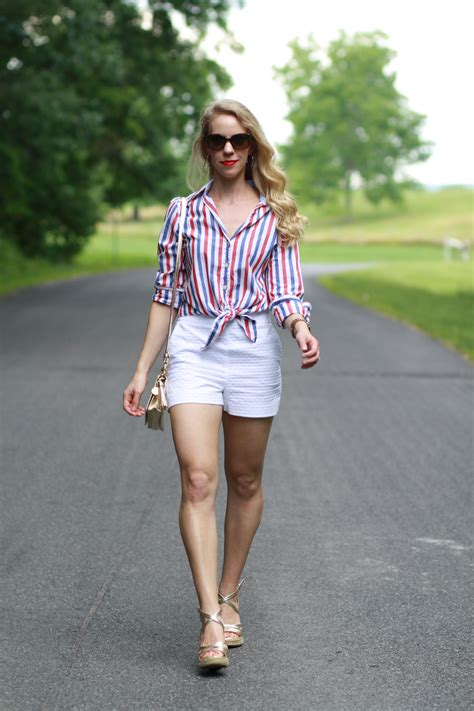 patriotic style red white  blue stripes high