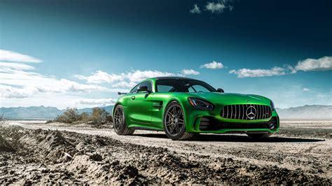 Amg Gtr Wallpaper Hd by Green Mercedes Coupe Mercedes Amg Gt R Ferrada