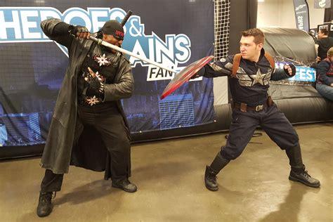 heroes and villians fan fest heroes and villains fan fest lots to love comiconverse