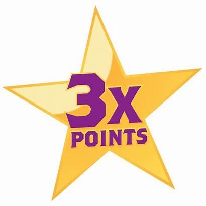 Rewards Reward Points Stars Lucky Icon 3x