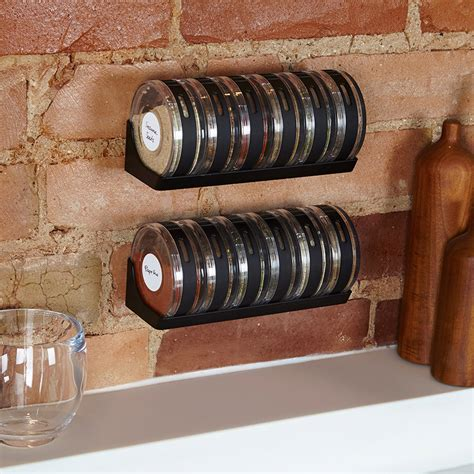 Spice Rack Next by Umbra Cylindra Modular Spice Rack The Green