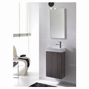 Gäste Wc Spiegel Mit Beleuchtung : mybath ea164291 badm bel set g ste wc inkl waschtischunterschrank waschtisch und spiegel mit ~ Indierocktalk.com Haus und Dekorationen