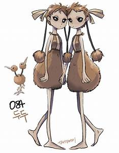 084.Doduo by tamtamdi on DeviantArt