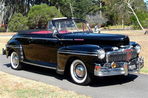 Ford Mercury Convertible (RHD) Auctions - Lot 14 - Shannons