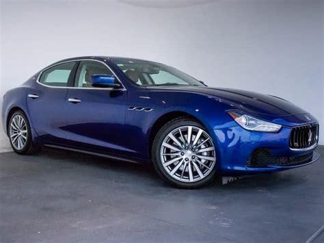 Maserati Of Denver by Used 2014 Maserati Ghibli Luxury Sedan For Sale Near
