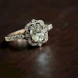 18 brilliant vintage wedding engagement rings page 3 of With wedding band for antique engagement ring