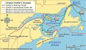 Image result for Jacques Cartier became the first to sail into the river he named Saint Lawrence.
