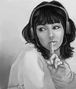 Anime Girl Line Drawing - Hot Girls Wallpaper
