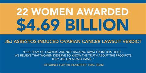 talcum powder ovarian cancer lawsuit asbestos meaning