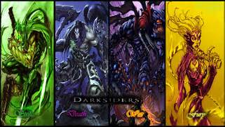 Darksiders The 4 Horse...