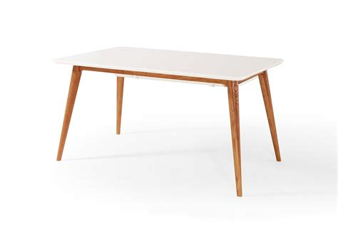 table de salle 224 manger extensible scandinave wyna dewarens