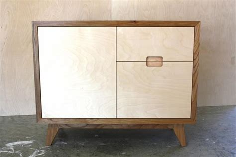 Elm And Birch Plywood Sideboard