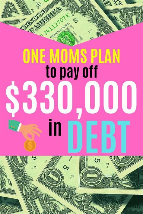 moms plan  pay  significant debt quickly debt